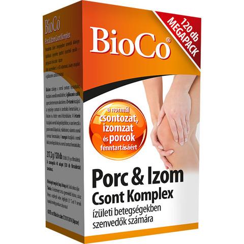 BioCo Porc és Izom csont komplex tápszer MegaPack 120db tabletta