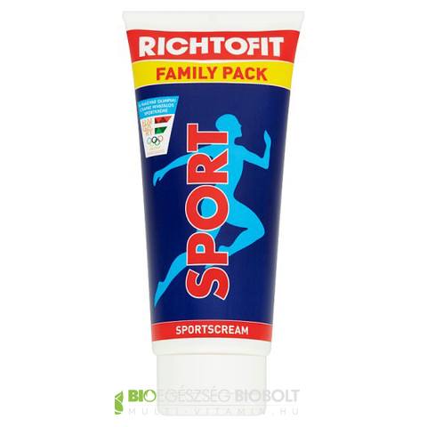 Richtofit sportkrém Family Pack 160g