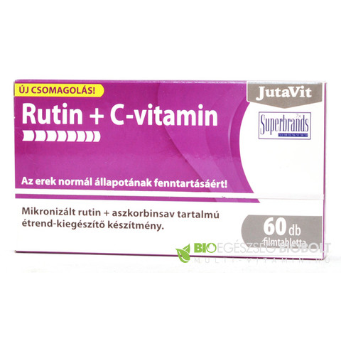 Jutavit Rutin+Cvitamin 60db tabletta