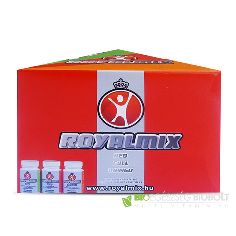 Royalmix kapszula Red 60 db - Full 60 db - Mango 30 db