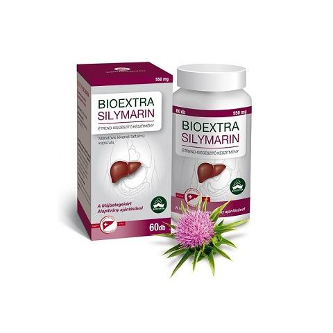 Silymarin kapszula 60db Bioextra