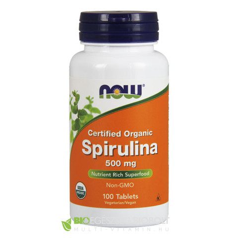 Now Spirulina 100db 500mg