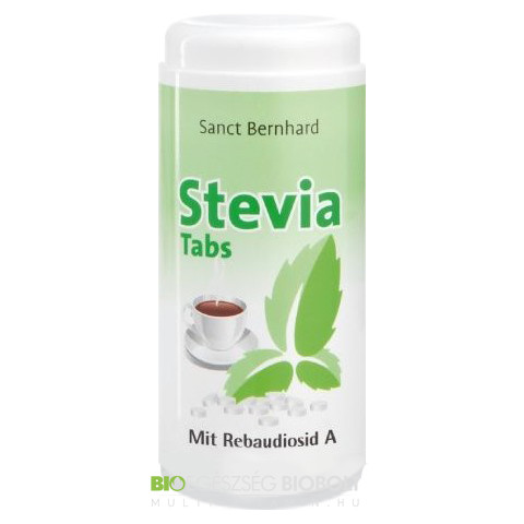 Stevia tabletta 600 db (Sanct Bernhard)