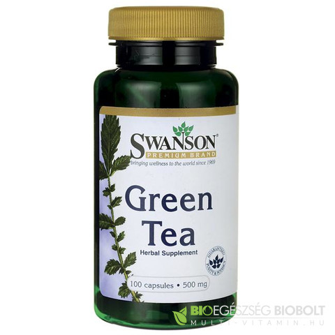 SW Zöld tea Green Tea 100db