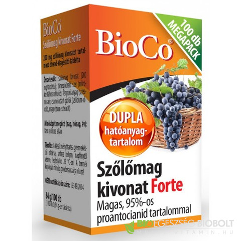Szőlőmag Forte Megapack 100db (BioCo)