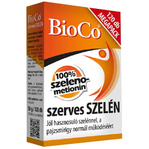 Szerves Szelén MegaPack tabletta 120 db (BioCo)