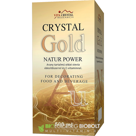 Vita Crystal Gold Natur Power 500 ml