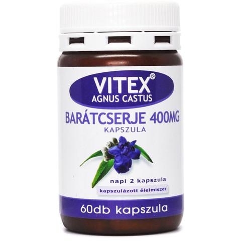 Vitex Barátcserje 400 mg kapszula 60 db