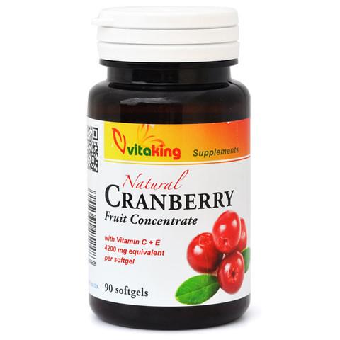 VK Cranberry Tőzegáfonya C és E vitaminnal 90db