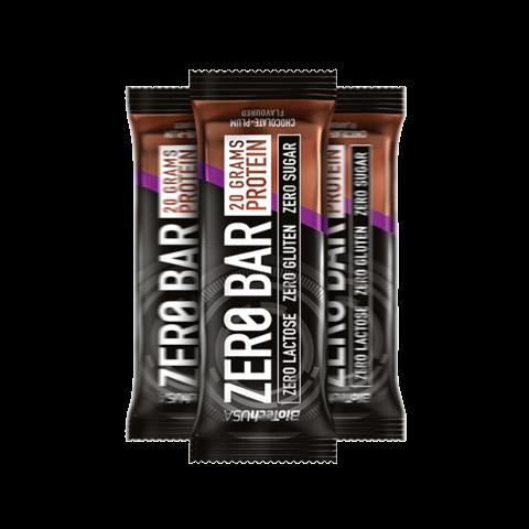 Zero Bar csoki szilva ízű szelet 50 g (BioTechUSA)