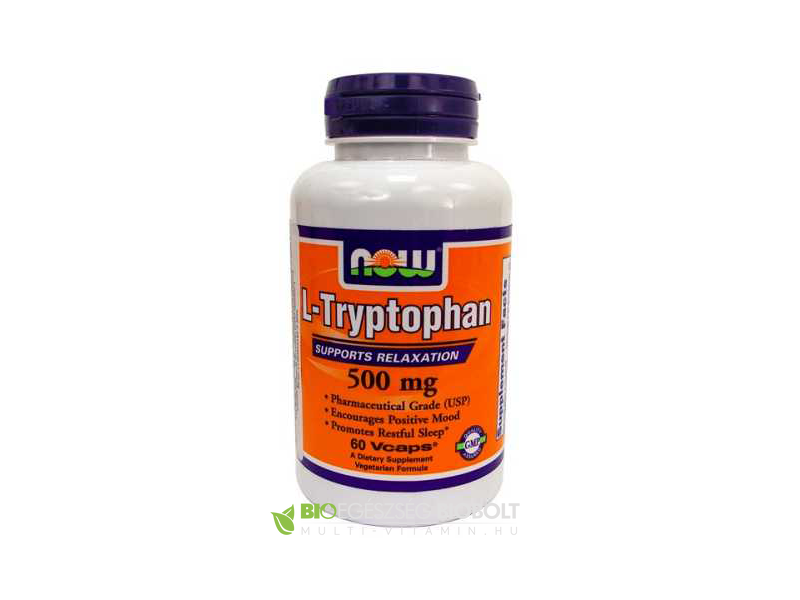 L-Tryptophan 500 mg 60 db Vega kapszula (NOW)