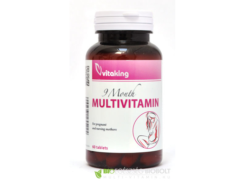 VK 9 Month multivitamin 60db