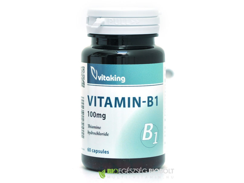 B1-Vitamin 100 mg 60 db (Vitaking)