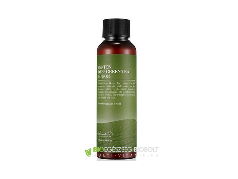Benton Deep zöldteás lotion 120ml