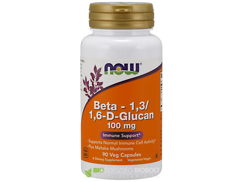 Now Beta 1,3/1,6 Glucan 90db