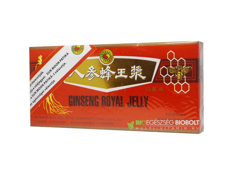 Big Star Ginseng Royal Jelly ampulla 10X10ml