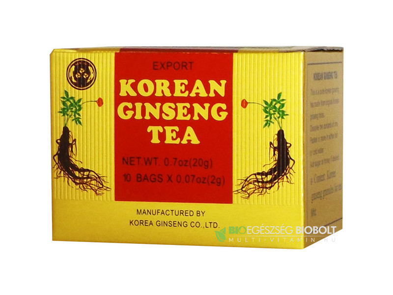 Big Star Instant Kóreai Ginzeng tea 10x2g