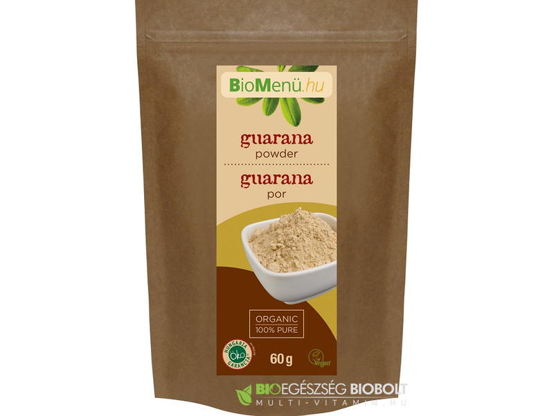 BioMenü Bio Guarana por 60 g