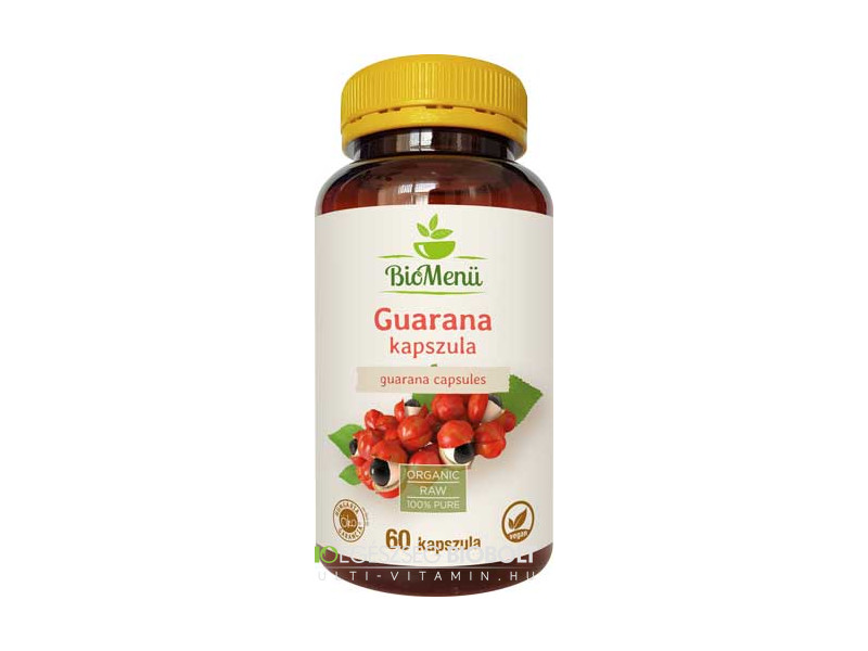 BioMenü Guarana kapszula 60db