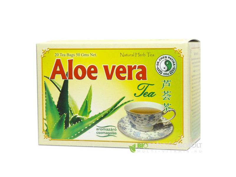 Aloe vera tea 20 db filter (Dr. Chen)