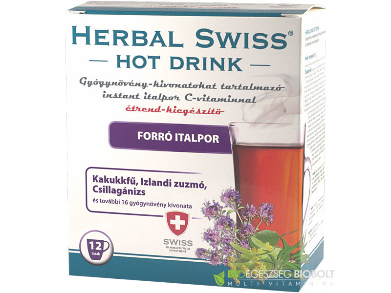 Herbal Swiss Hot drink 12db