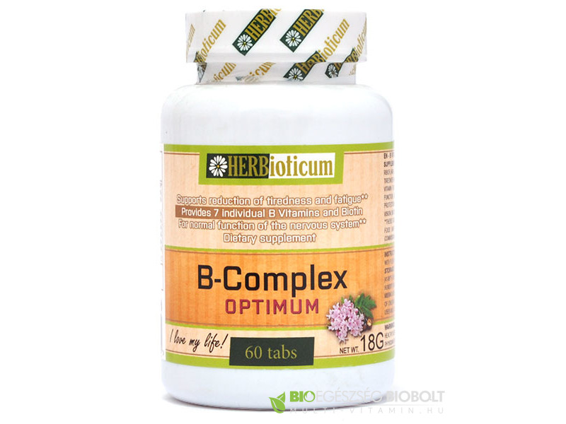 Herbioticum B-Complex Optimum tabletta 60 db
