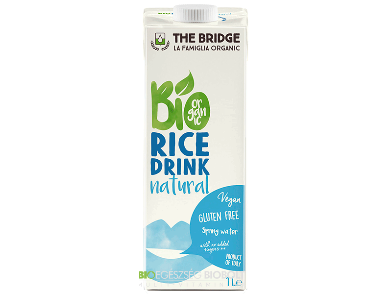 The Bridge Bio Rizsital Natúr 1000ml