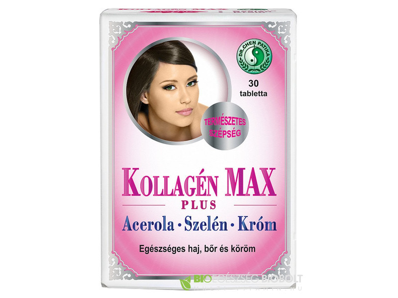 Dr. Chen Kollagén max plus tabletta 30db