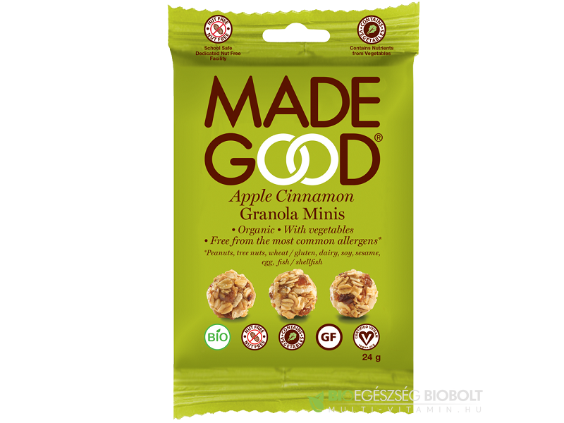 Made Good Granola golyók almás-fahéjas 24g