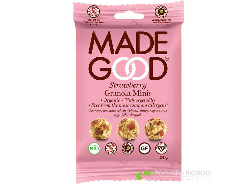 Made Good Granola golyók - Epres 24g