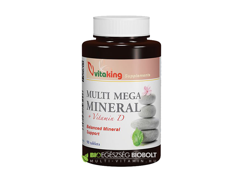 Multi Mega Mineral 90 db (Vitaking)
