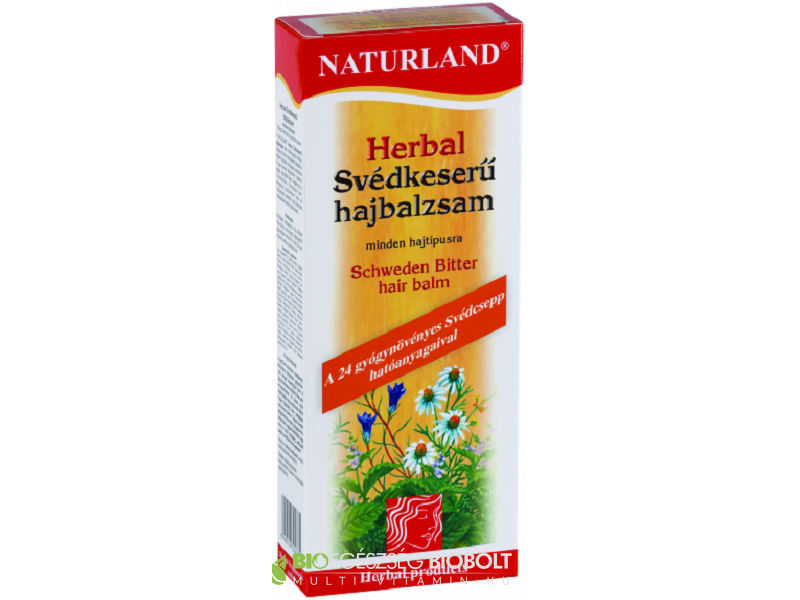 Naturland Herbal Svédkeserű hajbalzsam 180 ml