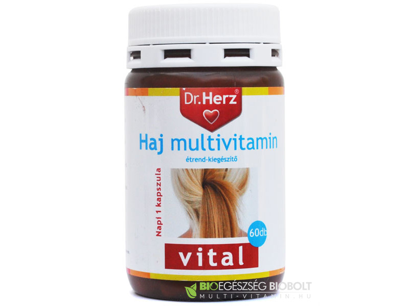 Dr.Herz Haj multivitamin 60db