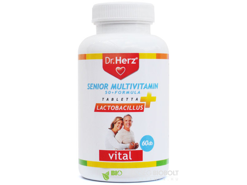 Dr.Herz Senior multivitamin 60db