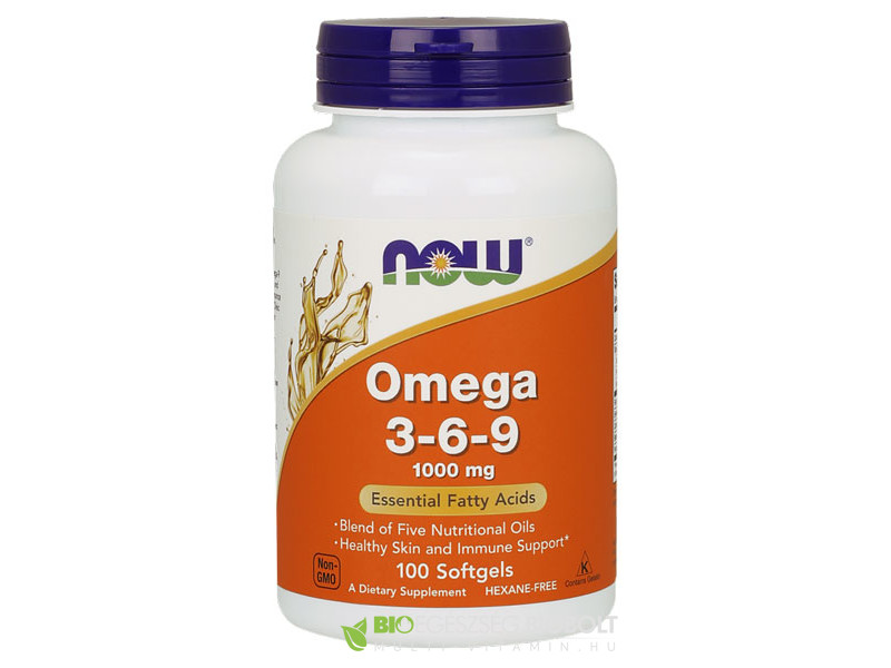 Now Omega 3-6-9 1000mg 100db