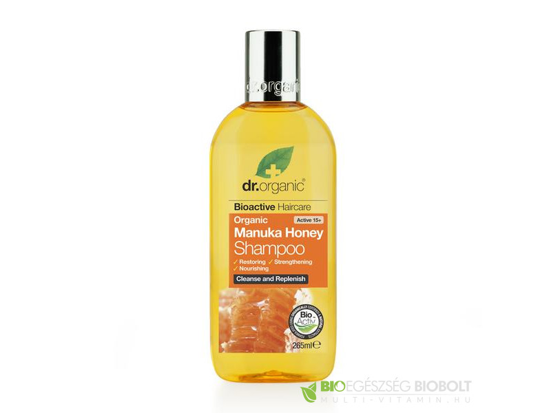 Dr.Org. Manuka sampon 265ml Bio