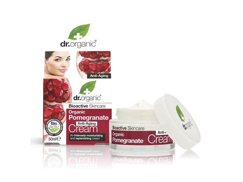 Dr. Organic Bio gránátalma nappali krém 50ml - Multi..