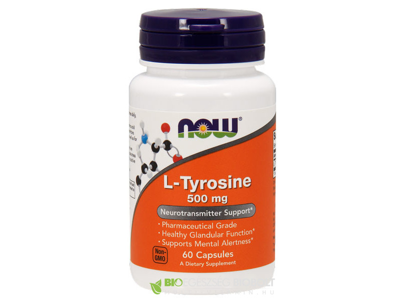 Now L-Tyrosine 60db 500mg