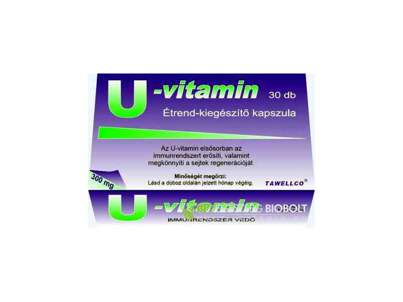 U-vitamin 300 mg kapszula 30 db