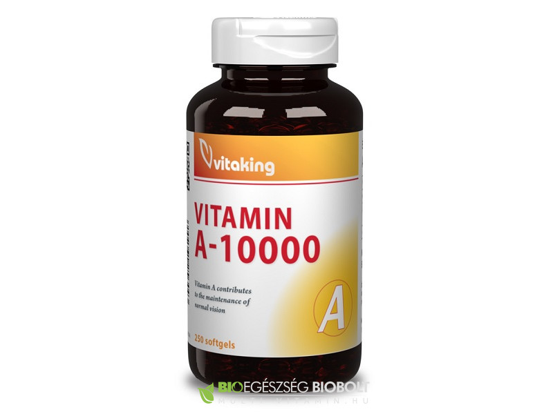 Vitaking A-vitamin 10000NE 250db