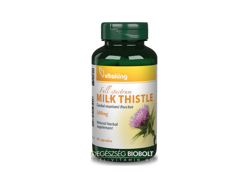 VK Máriatövis Milk Thistle 80db 500mg (56g)