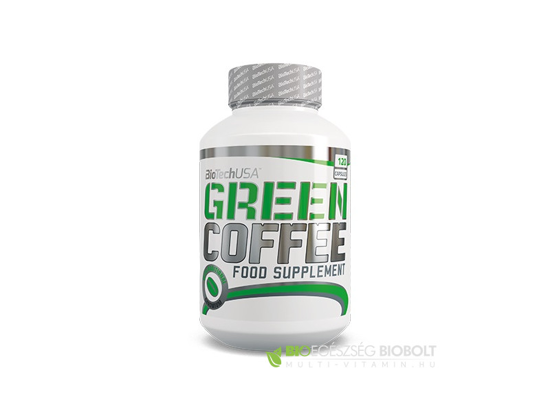 Green Coffee (Zöld kávé) 120 db kapszula (BioTech USA)